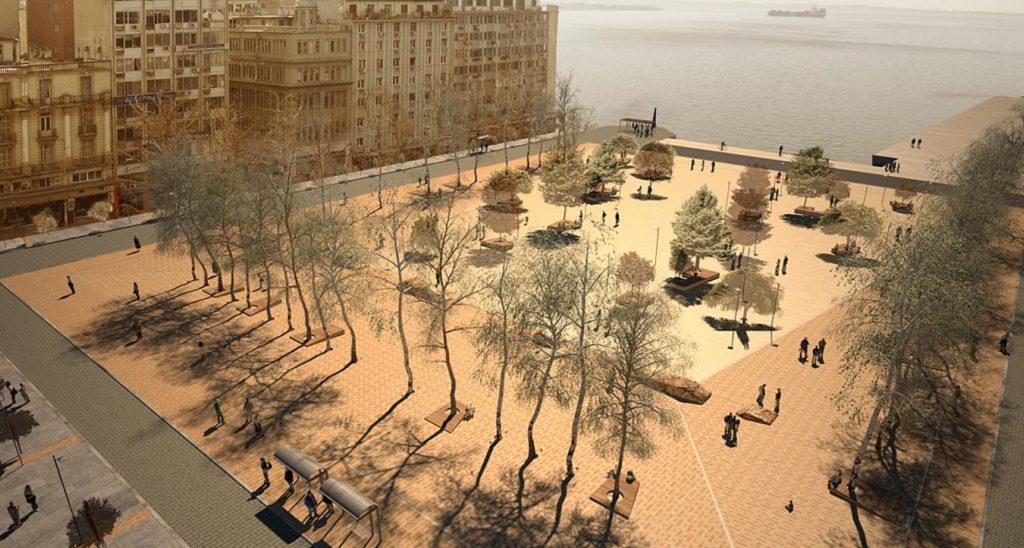 H εικόνα είναι από την πρόταση του αρχιτέκτονα  Γιάννη Γιαννούτσου στον σχετικό διαγωνισμό το Δήμου και κατατάχθηκε  ανάμεσα στις 50 καλύτερες προτάσεις. Δείτε περισσότερα εδώ: https://giannisgiannoutsos.com/en/node/51
